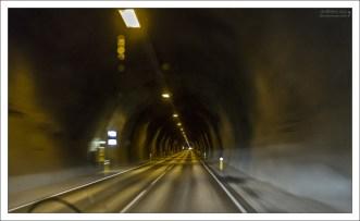 Туннель под полуостровом Трёдласкаги.