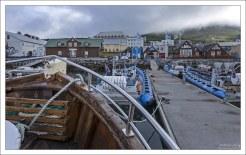 """На борту рыболовного судна """"Faldur"""" - традиционной исландской дубовой лодки."""