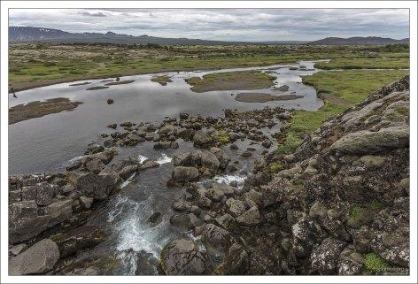 Река Эхсарау, длиной 17 км.