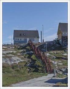 Такая лестница особенно ценна в зимний период.