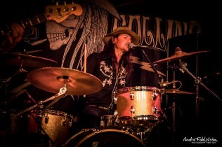 Stacie Collins & The AL-Mighty 3 på Rockland 2018-07-13