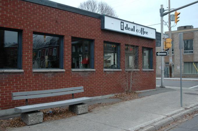 Ottawa I Deal Coffee Byward Market