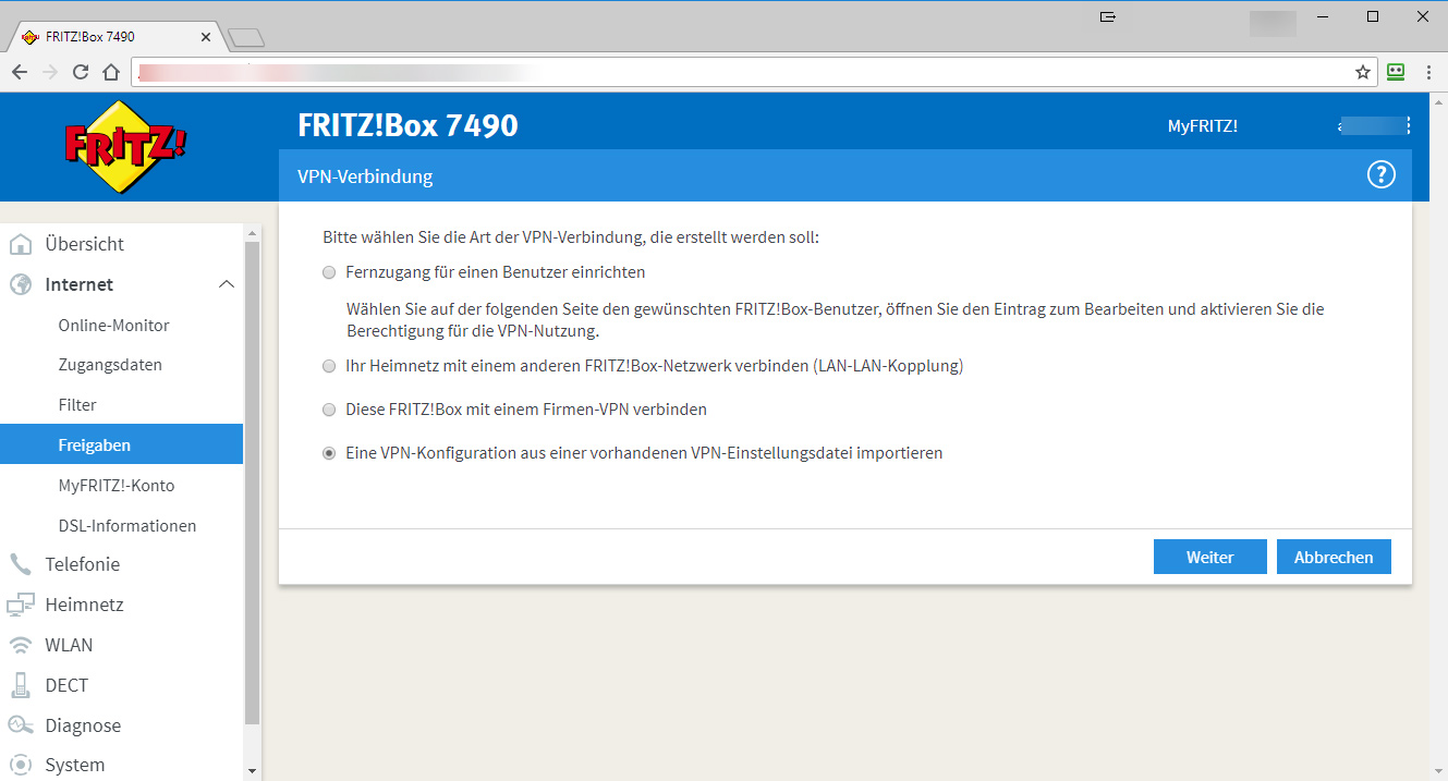 Vpn With Shrewsoft And Fritzbox Without Password Entry Andre Hotzler