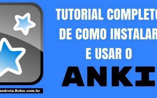 Como Usar o Anki - Tutorial Completo