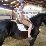 omul alb si calul negru
