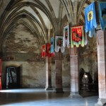 sala cavalerilor castelul corvinilor huniazilor hunedoara