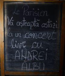 concert live Andrei Albu Le Parisien