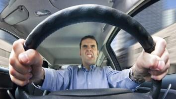 Road rage (male)