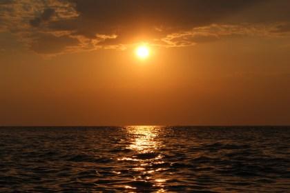 Apus pe Marea Neagră