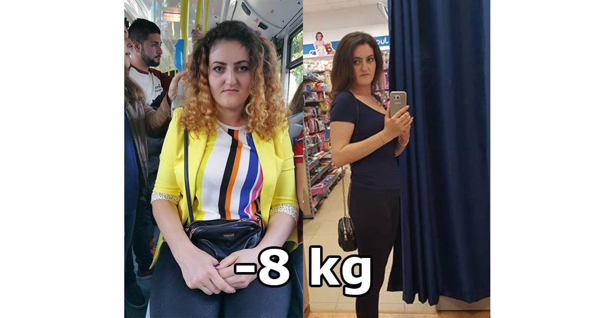 A slabit 8 kg cu dieta keto! Inca o transformare