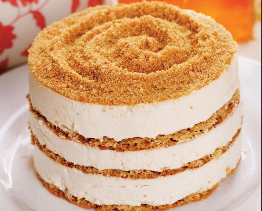 Nu am mai mancat pana acum niciun tort care sa aiba o crema atat de fina si blaturi atat de aromate! Va rog, incercati reteta acestui tort cu foi de miere si veti cunoaste gustul desavarsit!