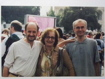 Umberto Castaldi, Zainab Gashayeva and Andrei Mironov