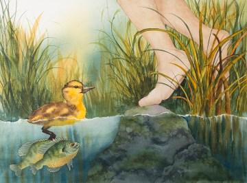 Ginalocks and the Three Fishes