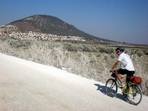 In bici da Haifa a Cafarnao
