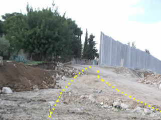 I lavori di muro