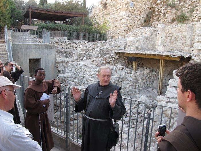 Visita alla Città di Davide con P.Alliata