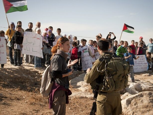 At-Tuwani: marcia di solidarietà dei bambini