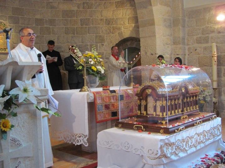 Santa Teresa percorre la Terra Santa: Gaza e Ain Arik