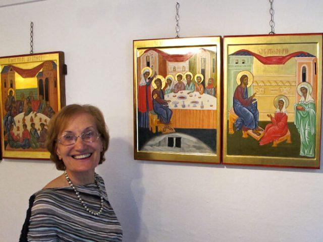 L'unzione di Betania: nuova icona per la cappella!