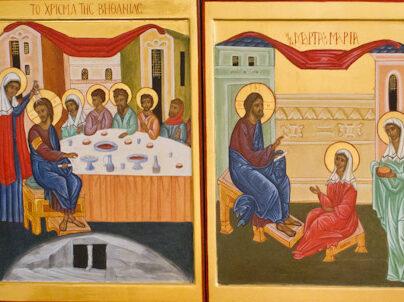 Festa a Betania: Santi Marta, Maria e Lazzaro