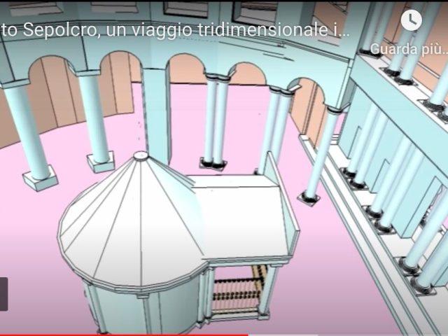 Il Santo Sepolcro in 3D