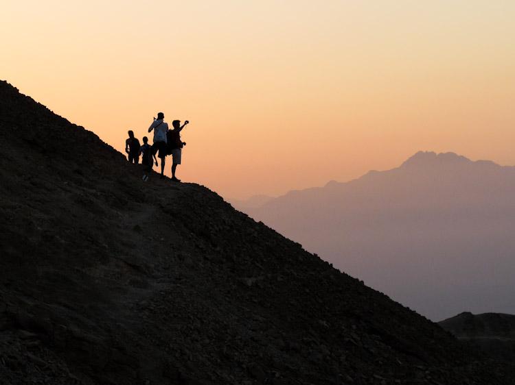 Sui monti di Eilat