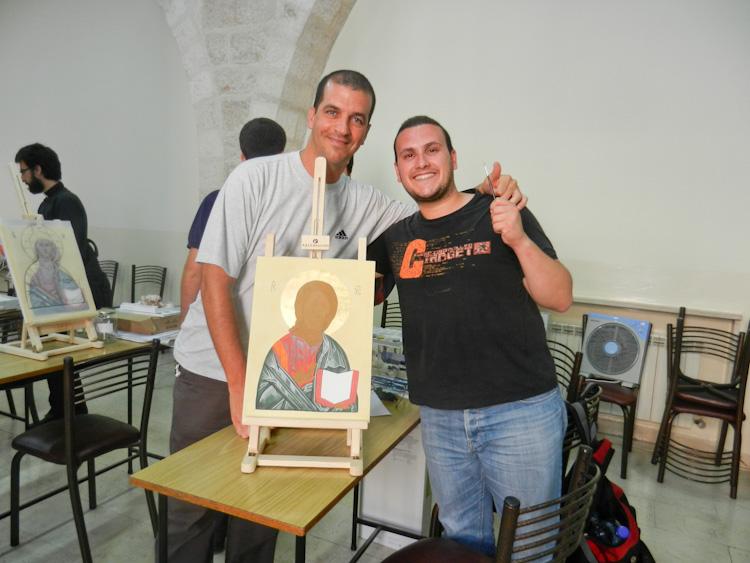 Gli iconografi di Gerusalemme: il corso 2012 è iniziato!