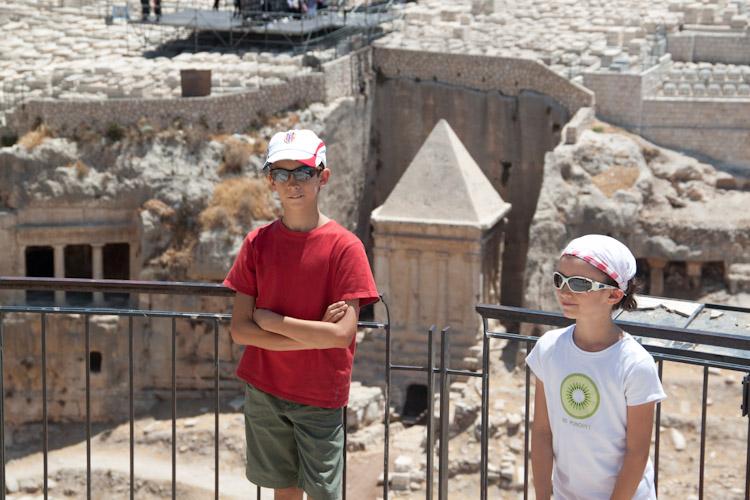 I fornasari pellegrini a Gerusalemme!