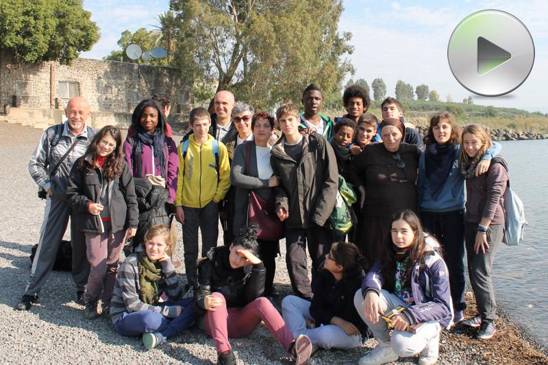 La scuolina raggiunge la Galilea