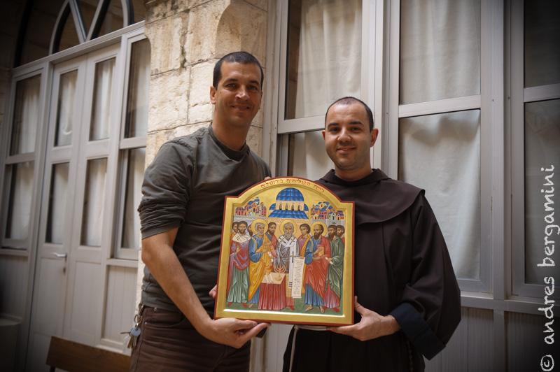 Andrea e Alberto - icona del Concilio degli Apostoli di Gerusalemme