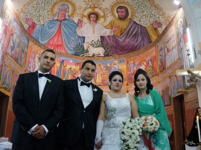 Corpus Domini e matrimonio a Gaza