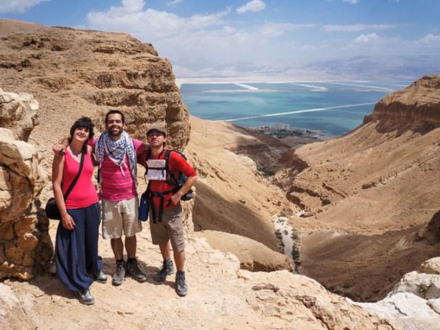 La rupe Tamrur e il wadi Boqeq