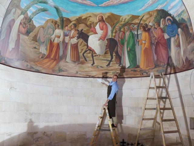 """Aspiranti Michelangelo """"restaurano"""" Betfage"""