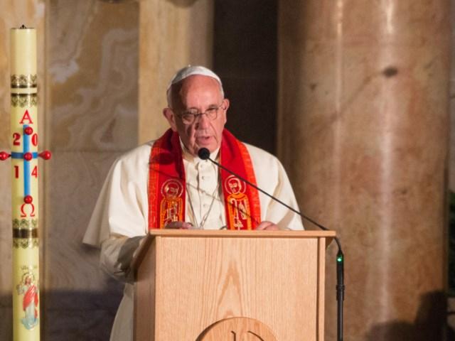 Papa Francesco al Getsemani