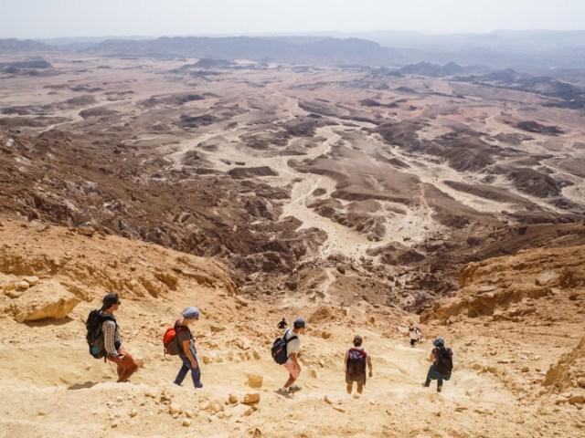 Week end nel Makhtesh Ramon