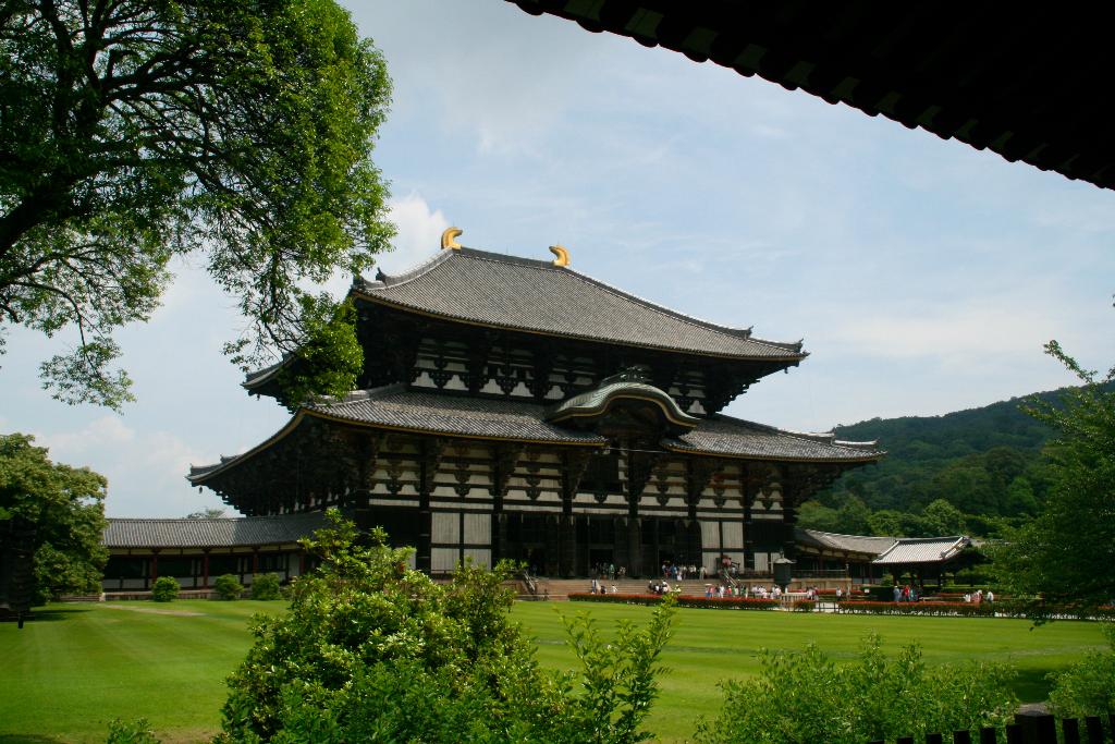 Today Ji Temple at Nara