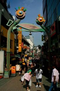 Takeshita Street gateway