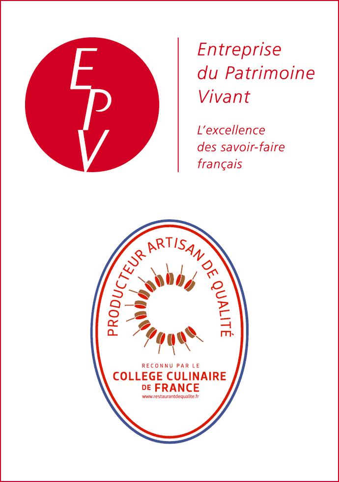 Certifications Qualité - EPV - PAQ