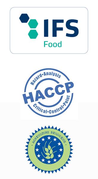 Logos Agriculture Bio - IFS Food - HACCP