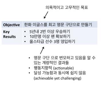 OKR example