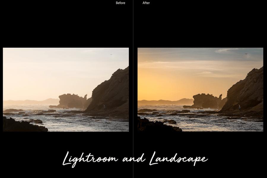 Lightroom and landcsapes