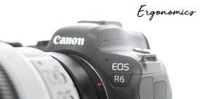 Canon R6 Ergonomics image