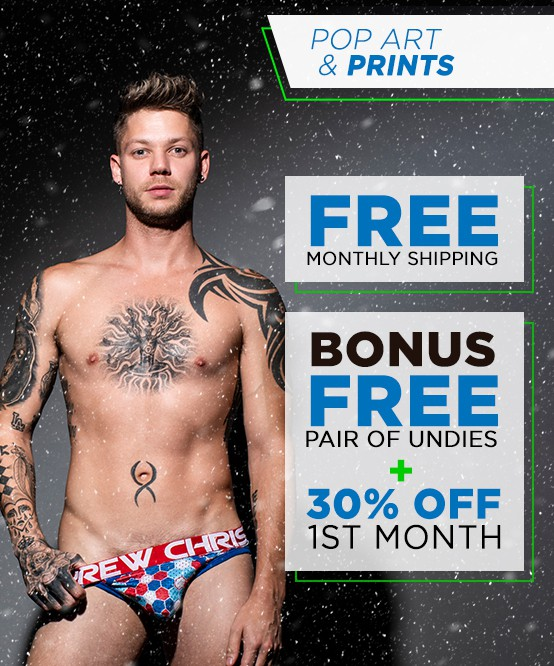 Pop Art & Prints Curated Underwear Club with FREE SHIPPING Image 2