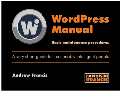 Wordpress Manual for website cover 400