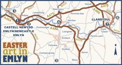 Artinemlyn Map