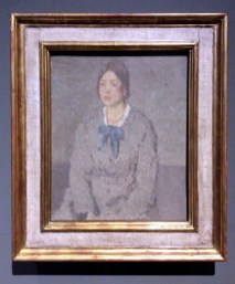Gwen John: Woman with the Coral Necklace c1910