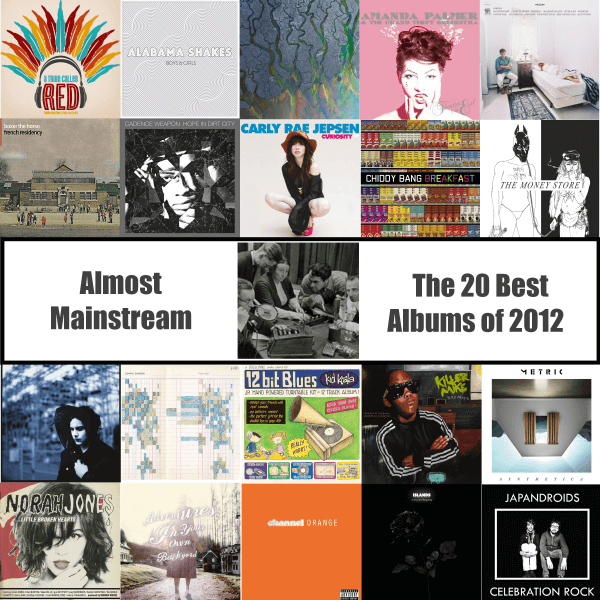 Almost Mainstream Best of 2012
