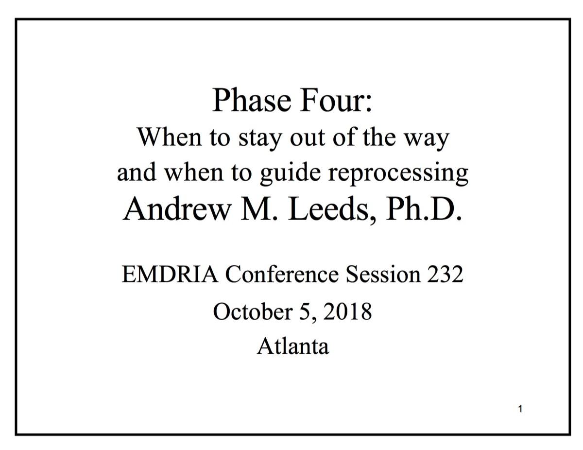 Emdr Treatment Planning Worksheet