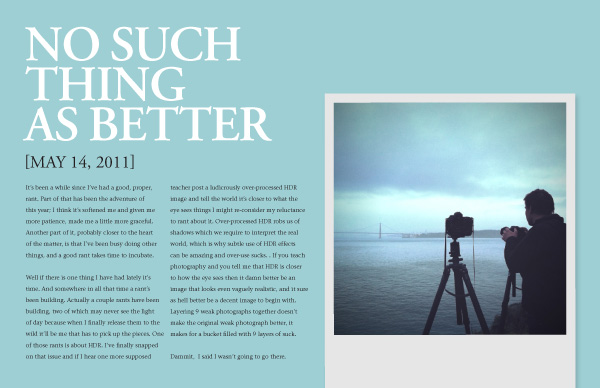 Vision is Better by David duChemin