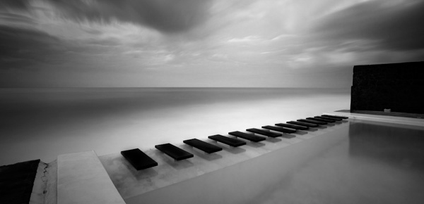 Long exposure photography by moises levy why black and white